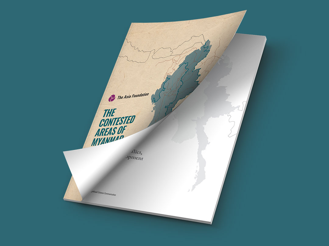 Front cover Asia Foundation research report